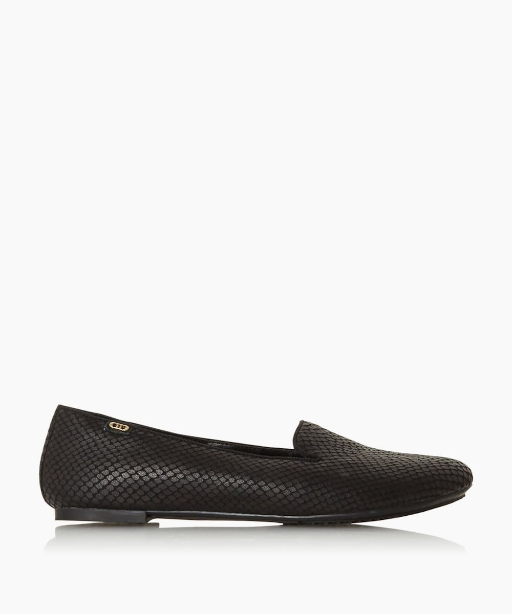 Slipper Cut Ballet Pump
