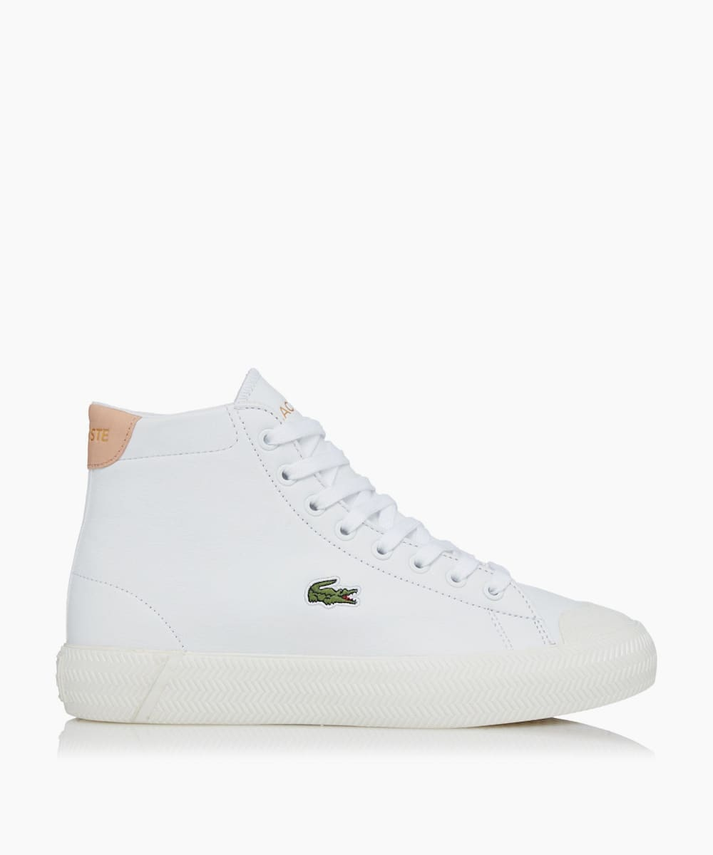 High-Top Lace Up Trainers