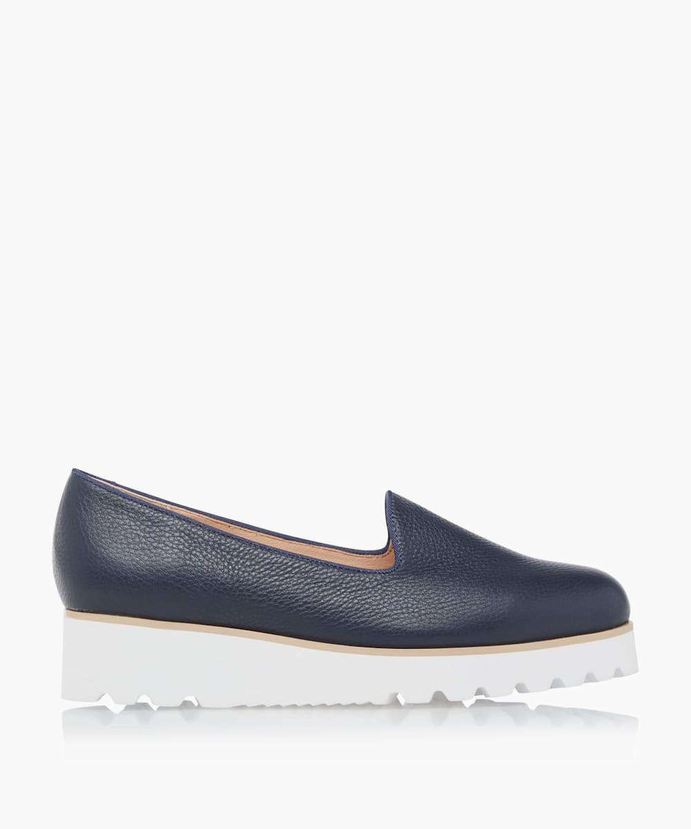 Flatform Penny Loafers