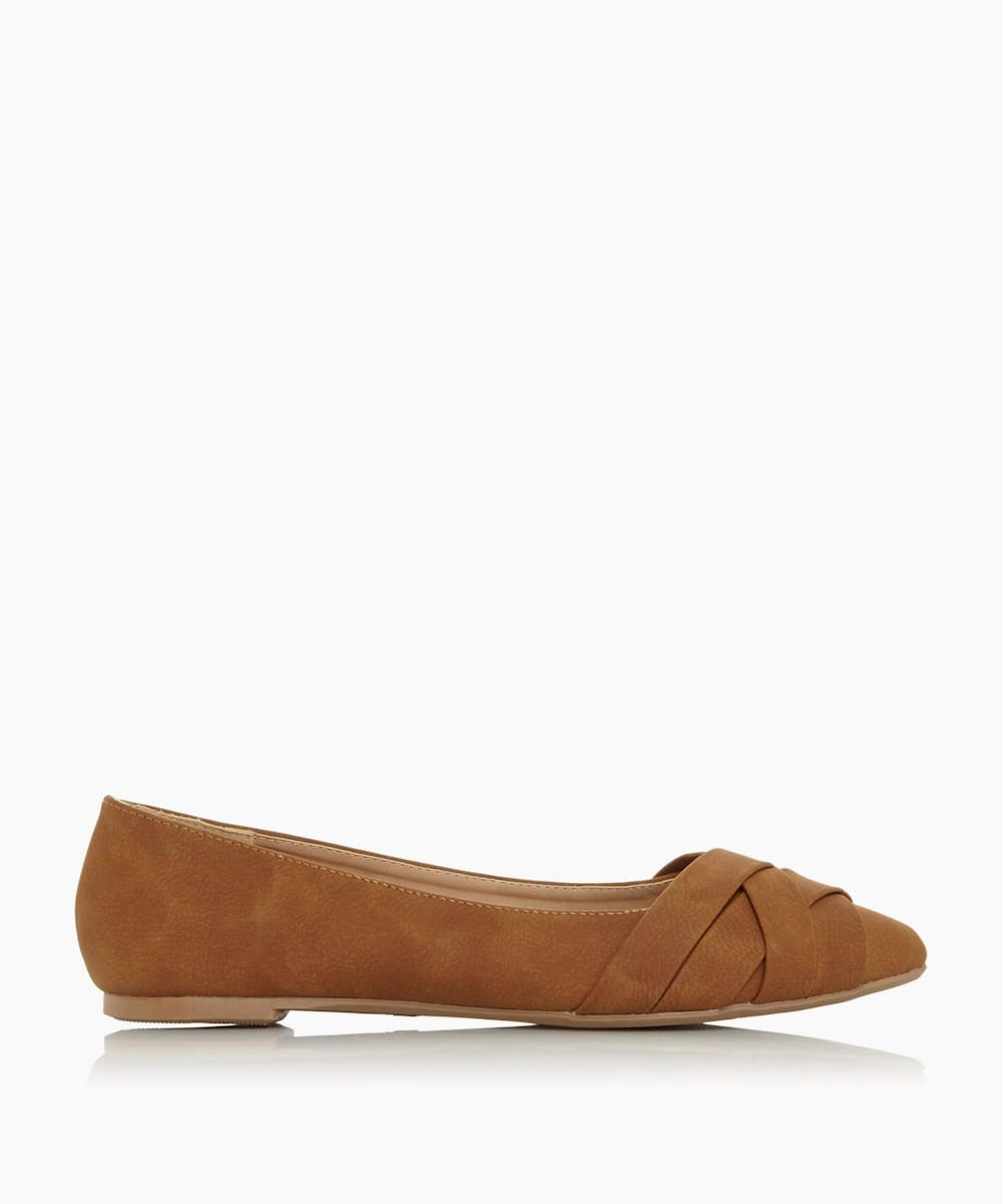 Pointed Toe Ballet Pump