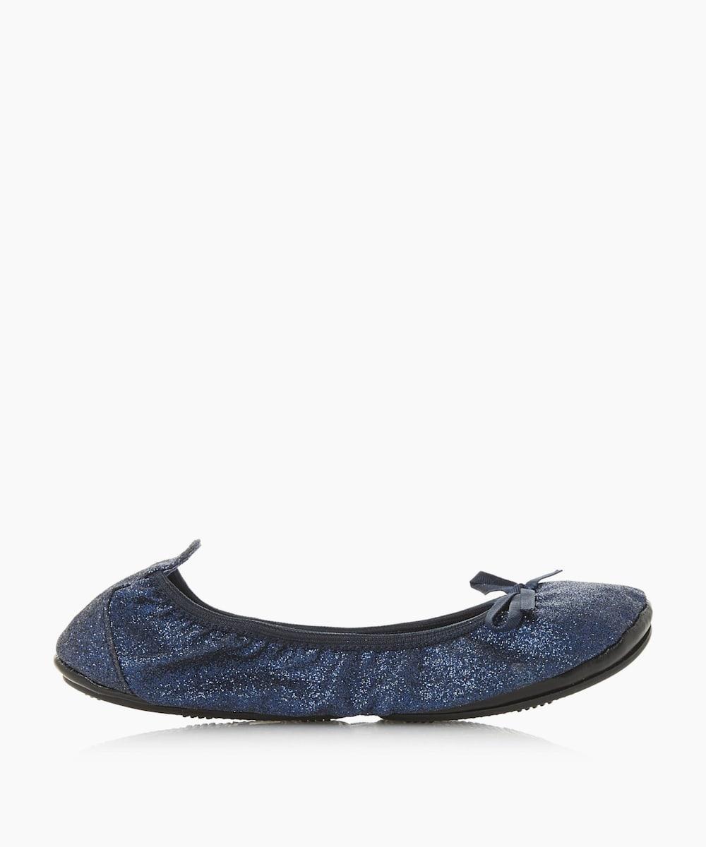 HARRIETTE- Bow Detail Ballerina Shoes