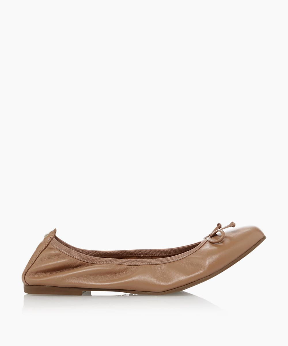 Elasticated Ballerina Pumps