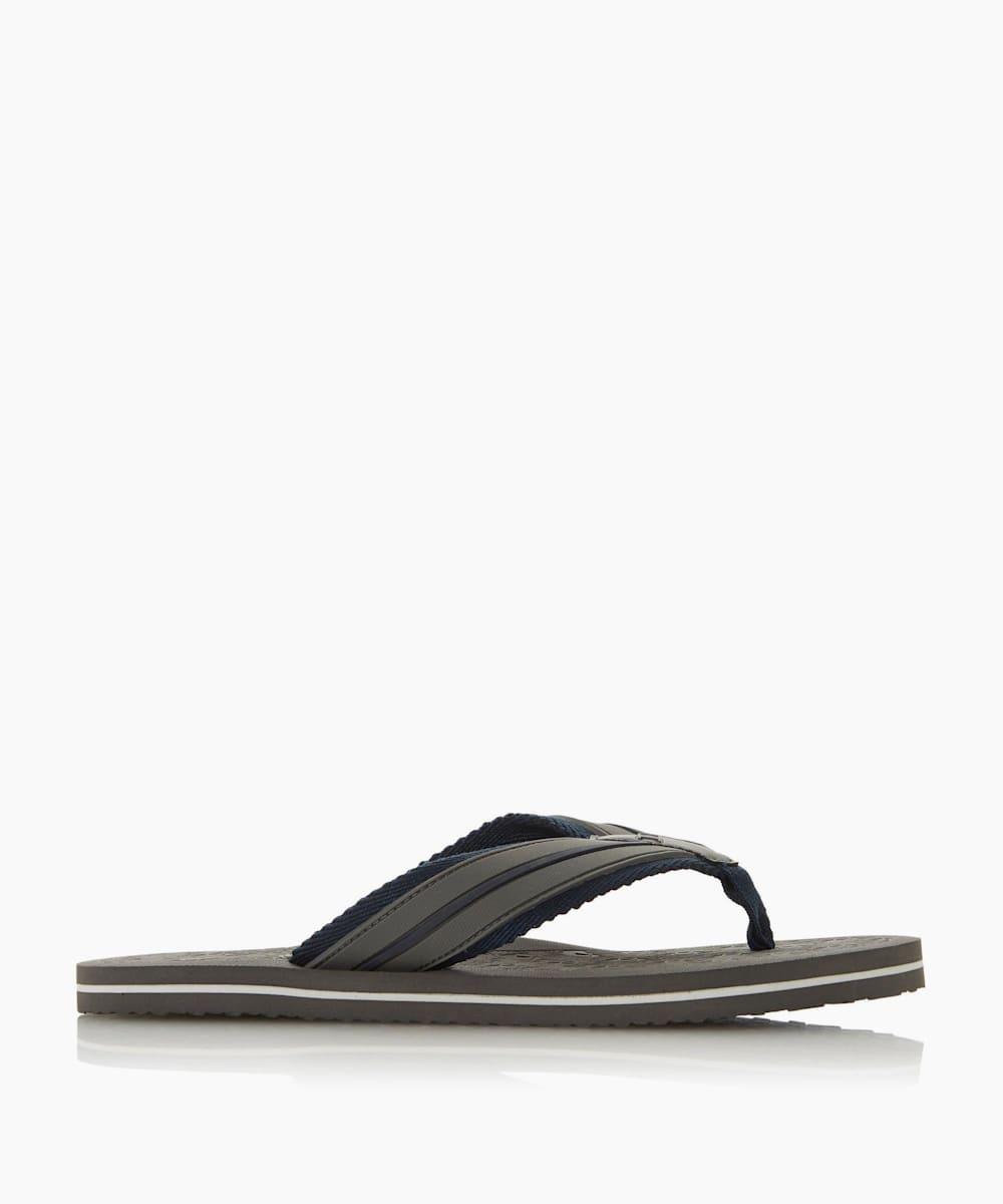 Wide Strap Toe-Post Flip Flop
