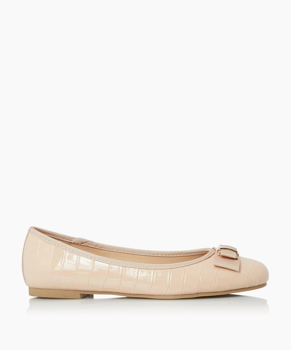 Round Toe Ballerina Shoes