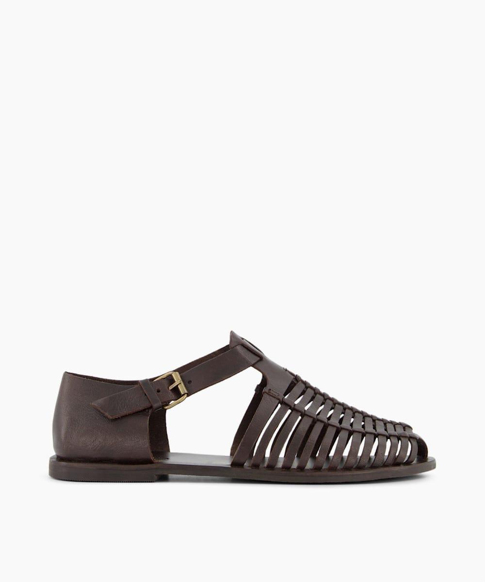 Leather Fisherman Sandals