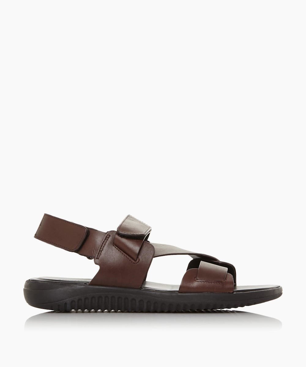 Leather Chunky Sandals