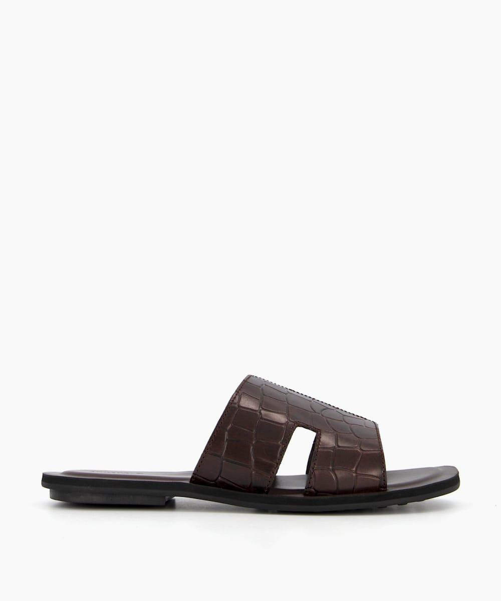 Cut-Out Strap Sandals