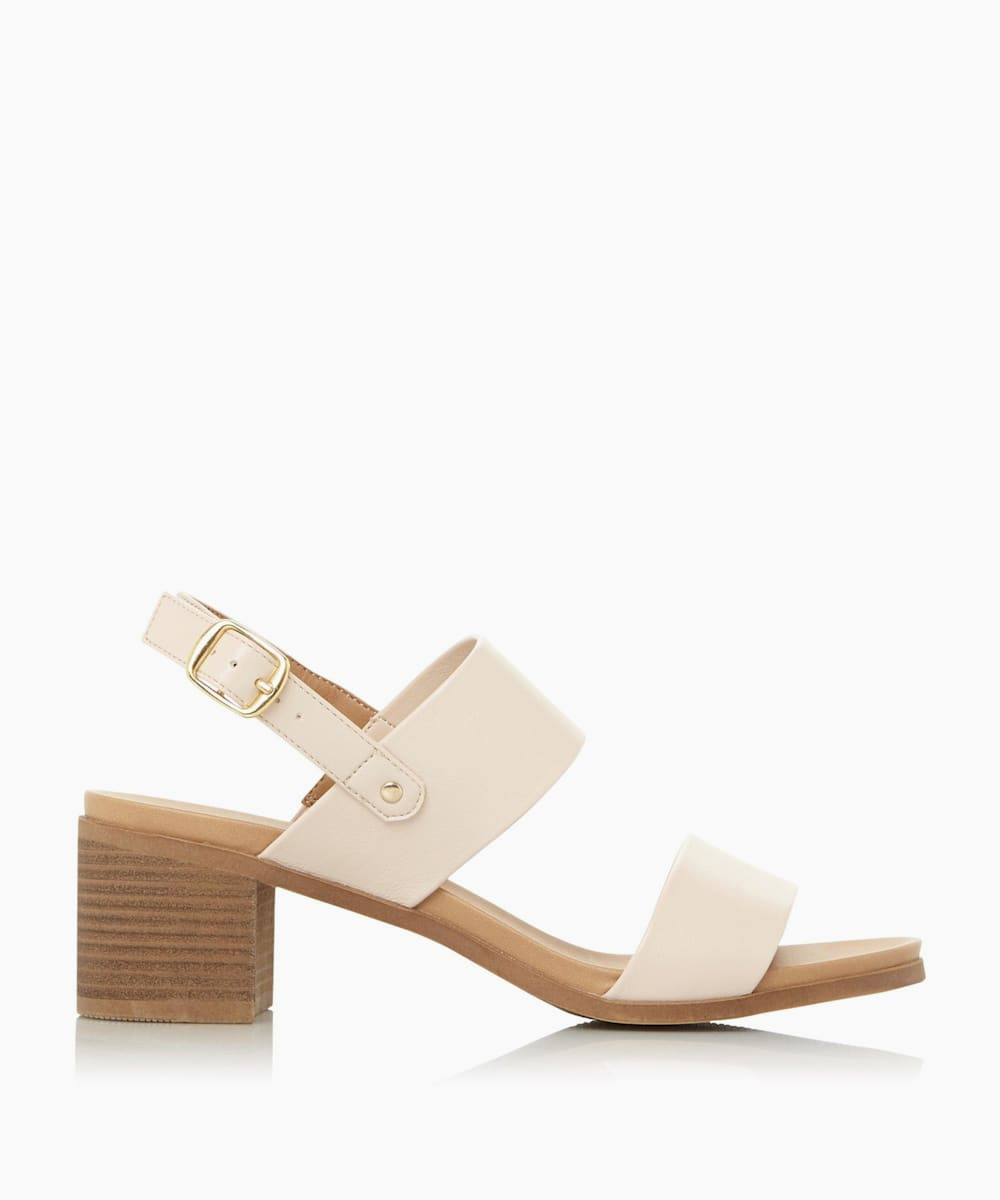 Two Part Block Sandals