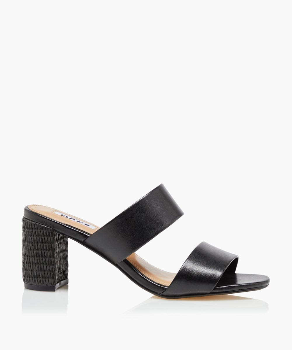 Raffia Heel Sandals