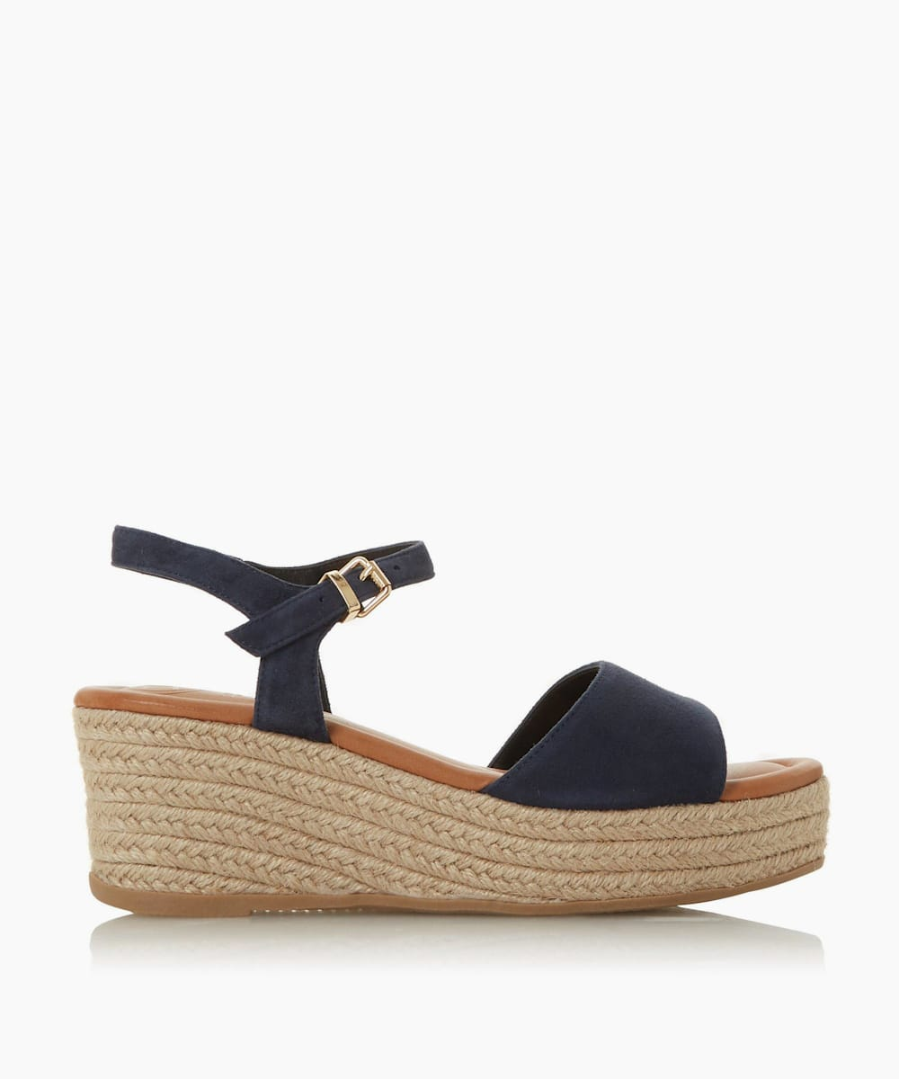 Espadrille Flatform Wedge Sandals