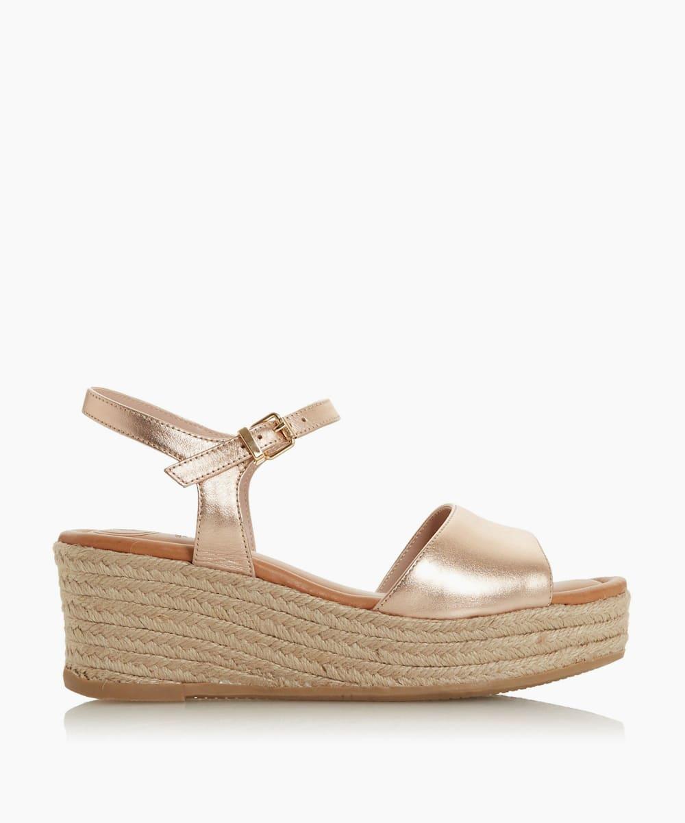 Espadrille Flatform Wedge Sandals