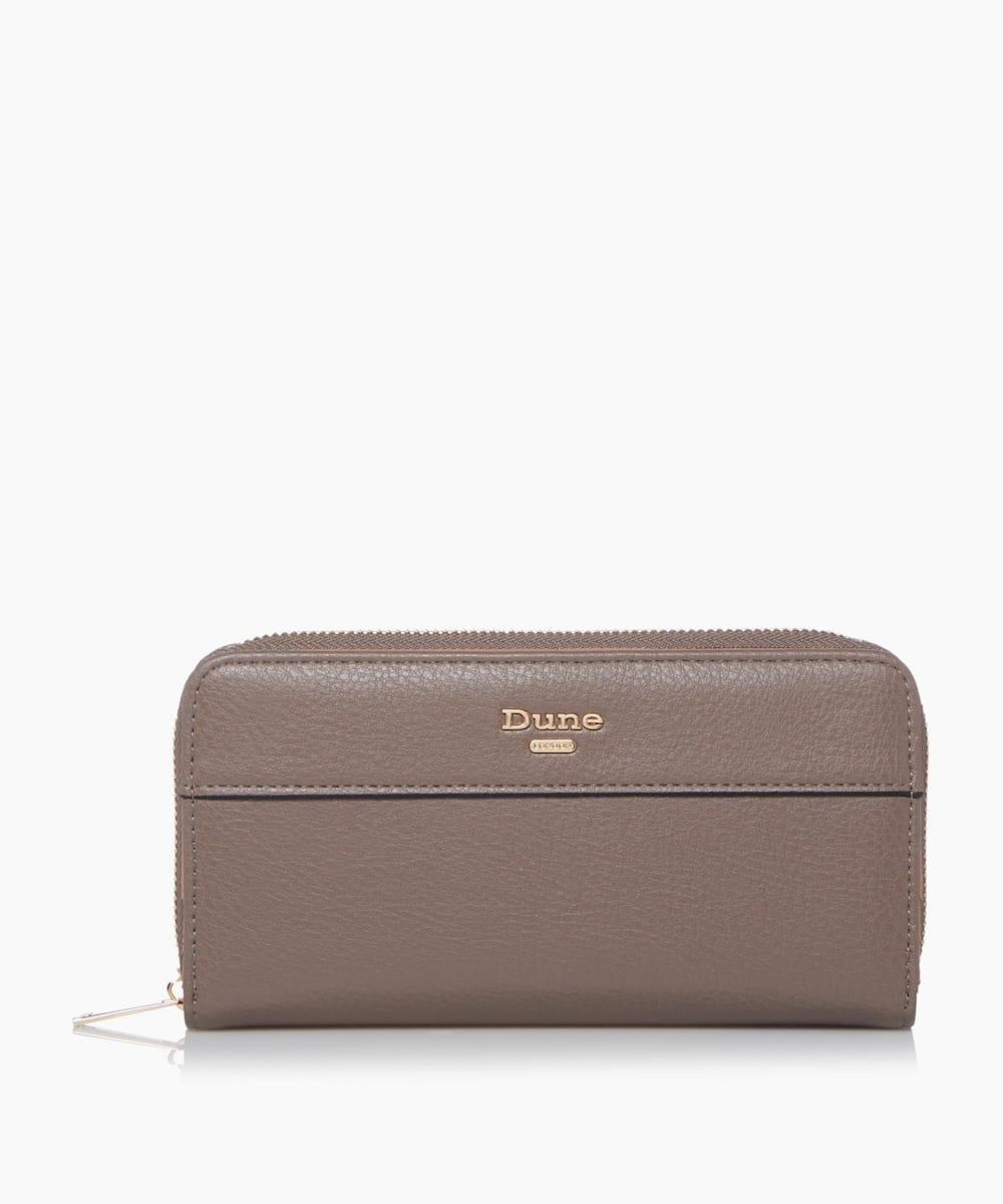 Flap Zip Around Purse
