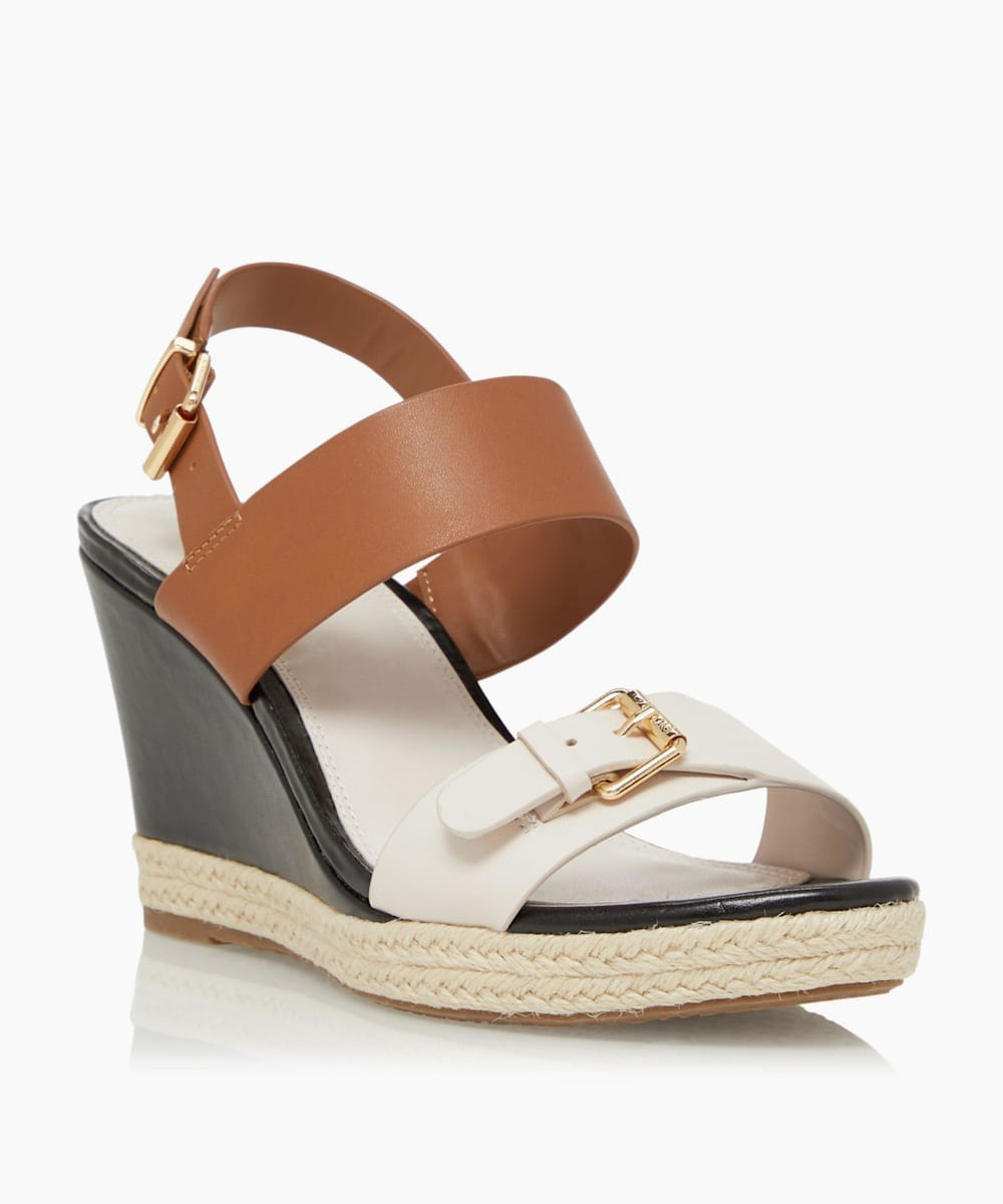Mid-Wedge Heel Sandals
