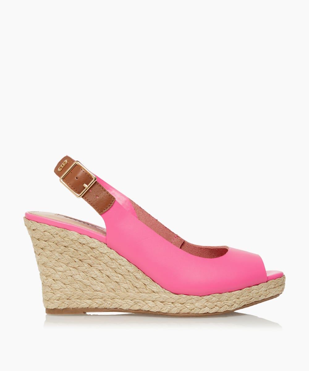 Espadrille Wedge Heel Sandals