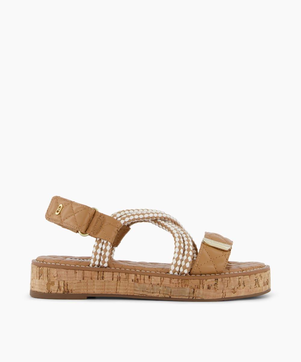 Rope Flatform Sandals
