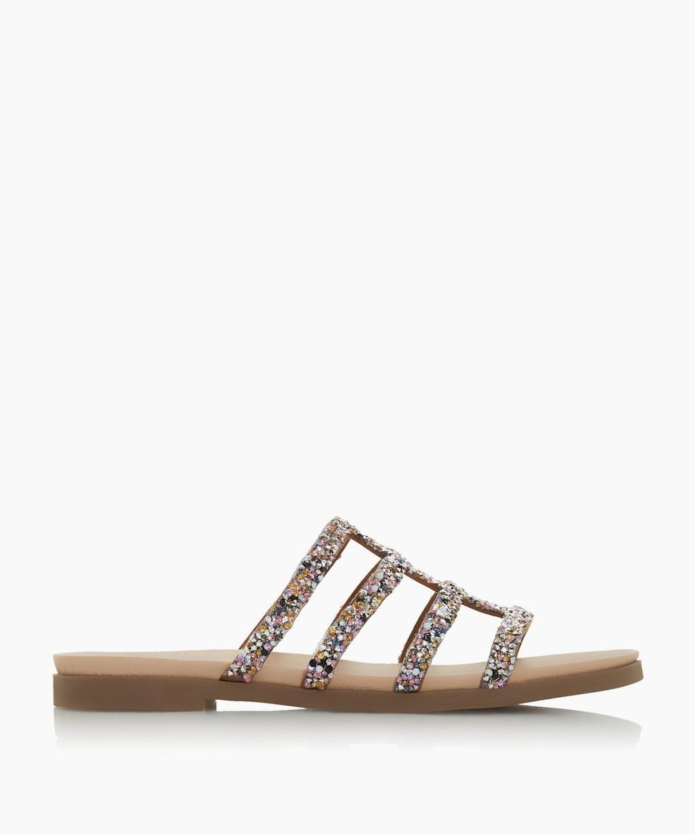 Strappy Slider Sandals