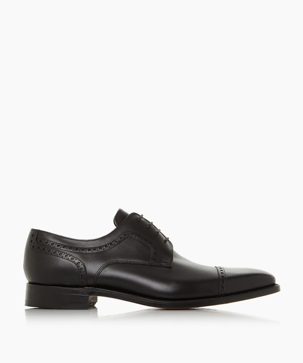 Punch Hole Toe Cap Smart Gibson Shoes