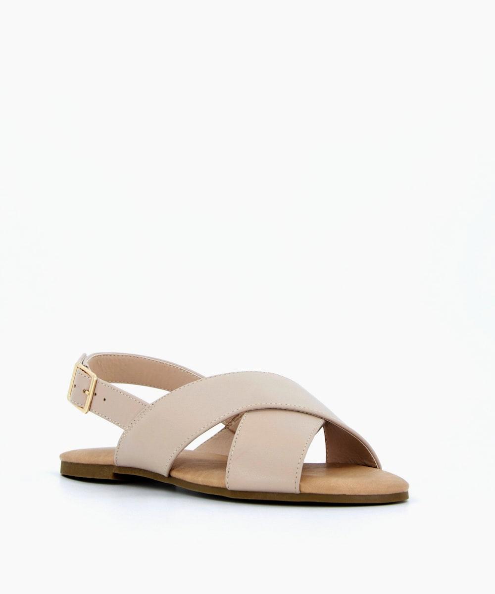 Cross Strap Sandals