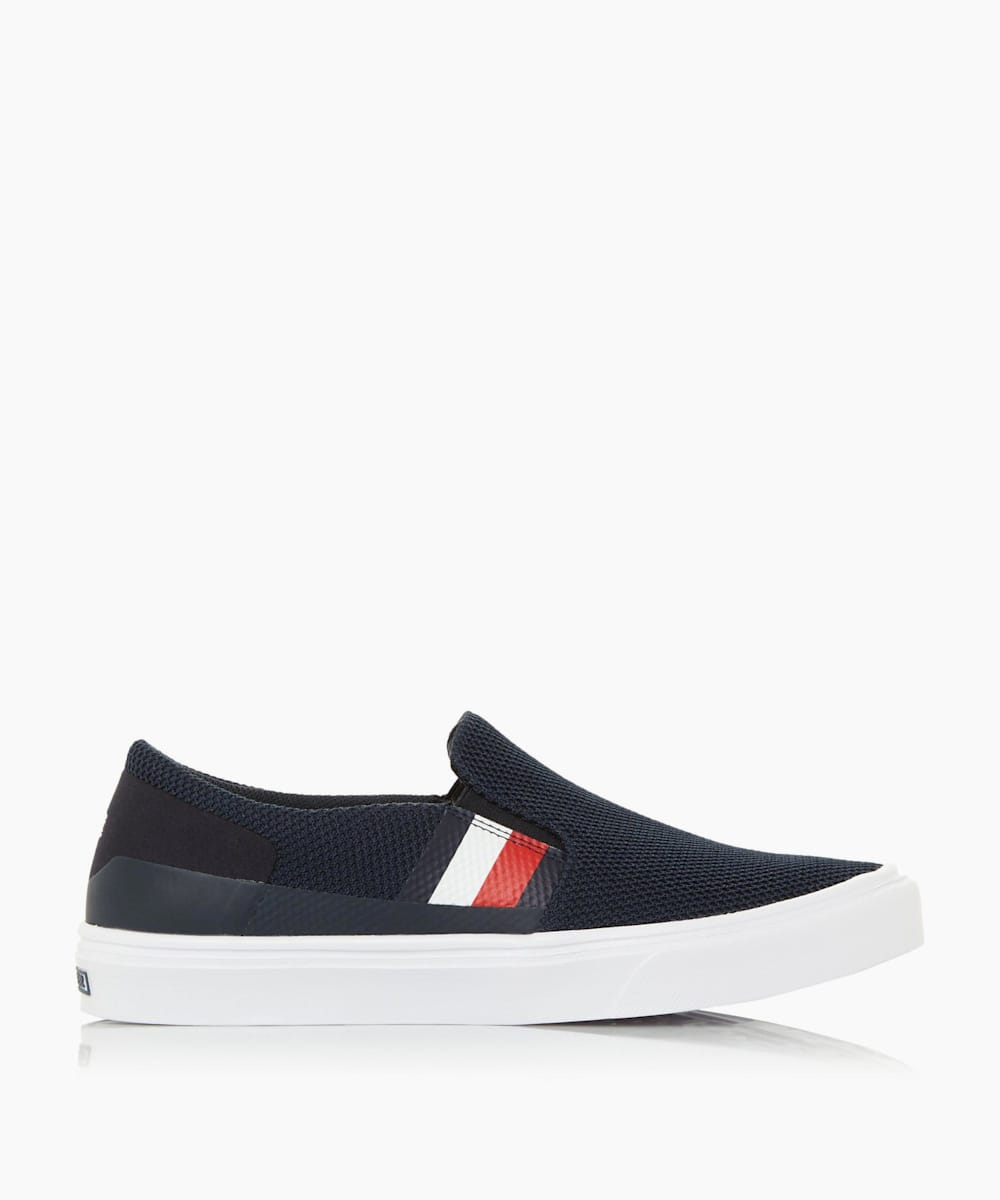 Knitted Slip On Trainers