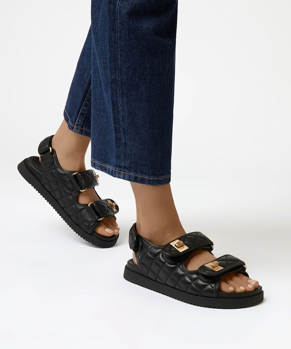 lockstockk chanel dad sandals dune