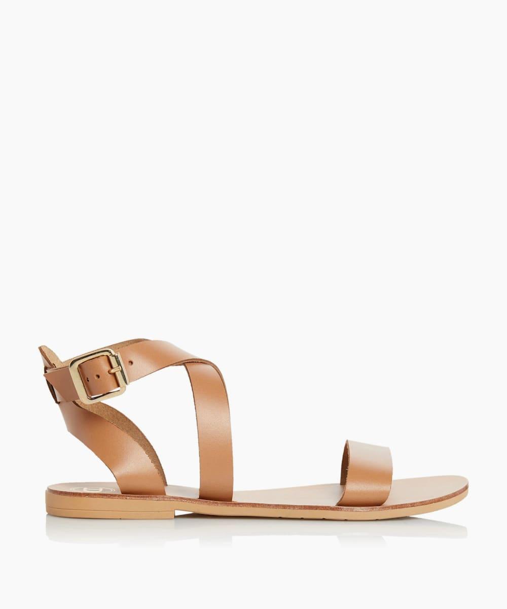 Multi-Strap Flat Sandals