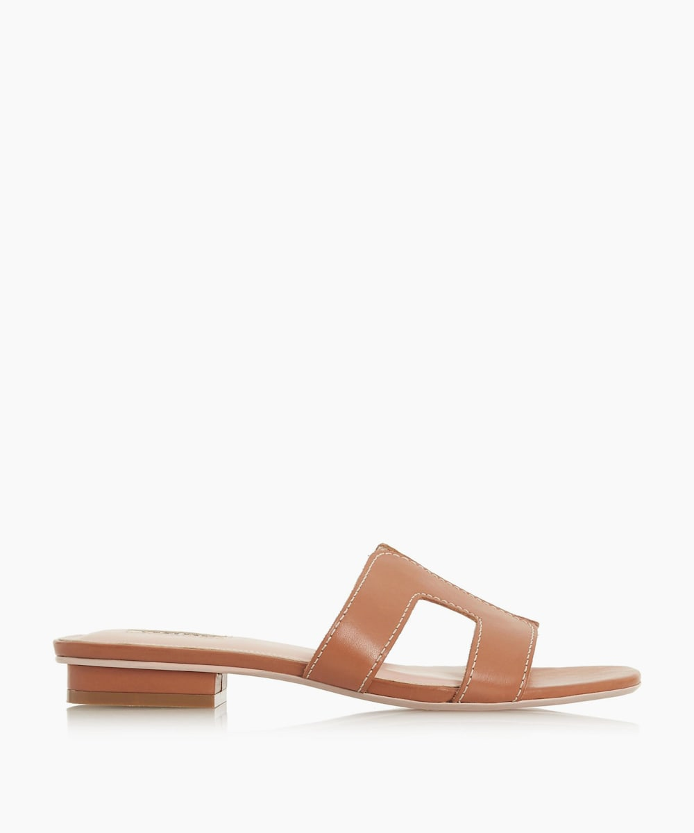 loupe sandals in tan from dune