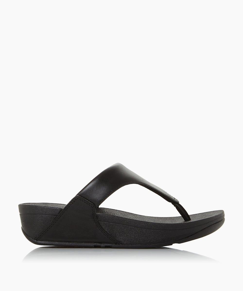 Plain Toe Post Sandals