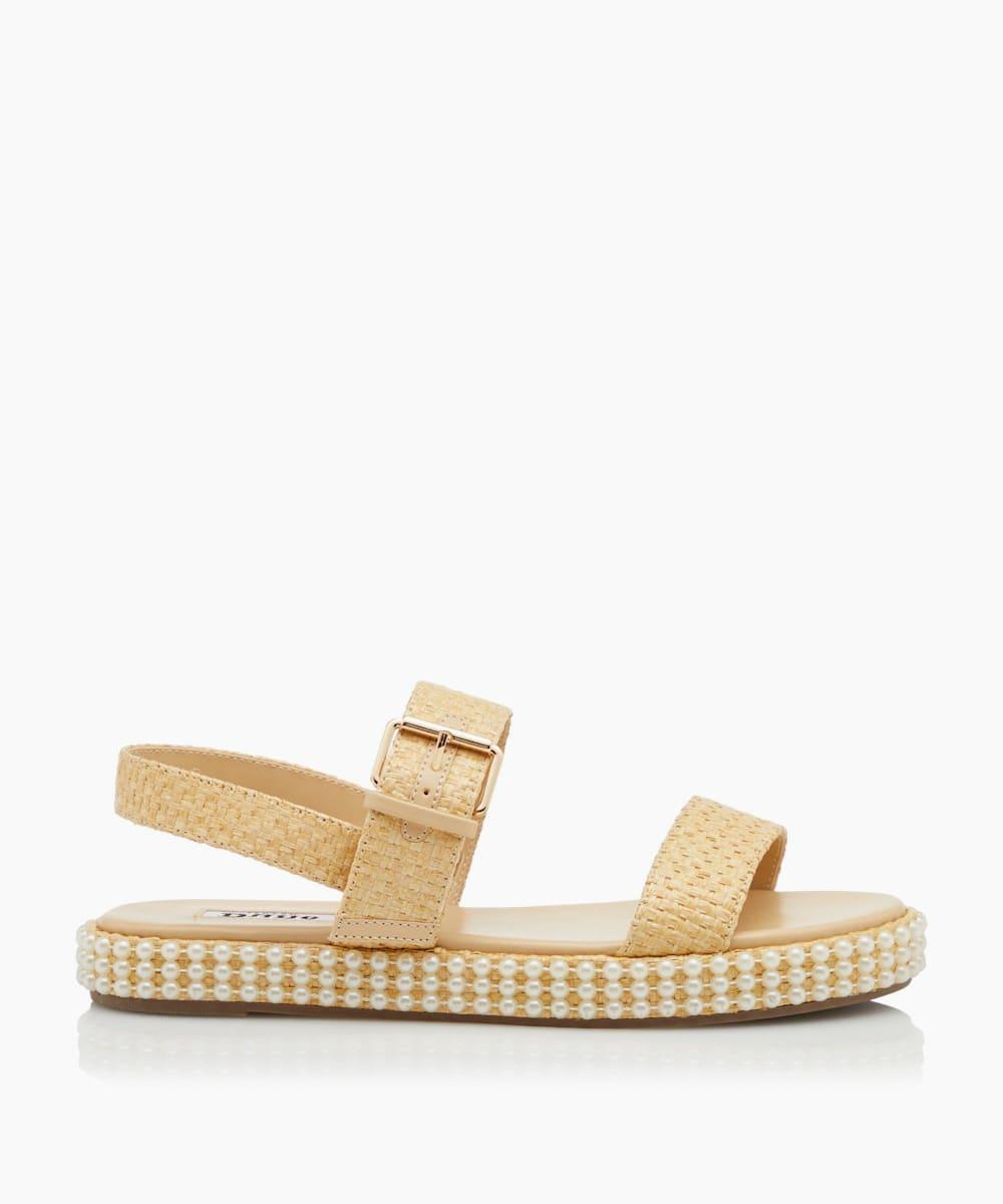 Double Strap Flatform Sandals