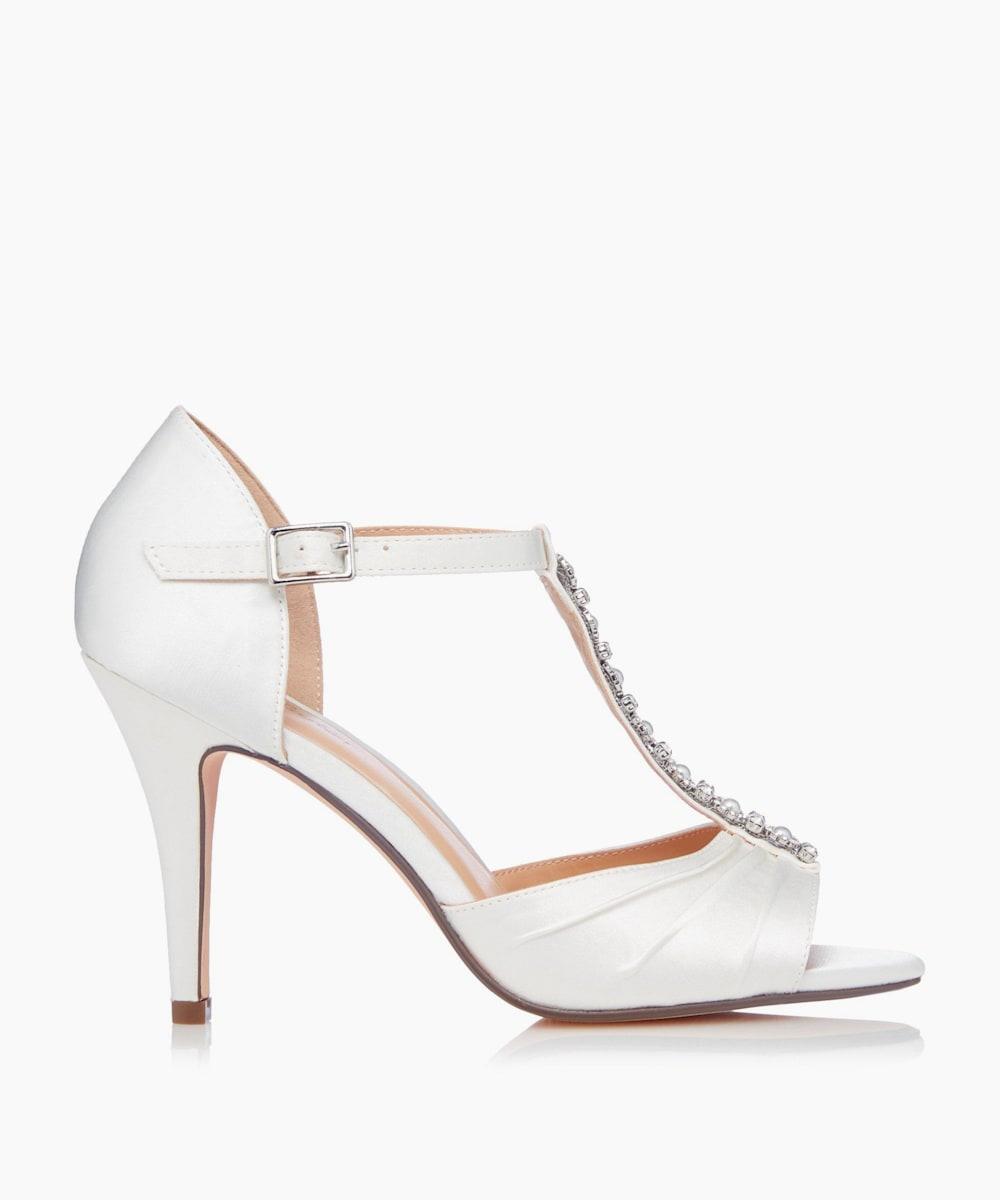 Open Toe T-Bar Sandals