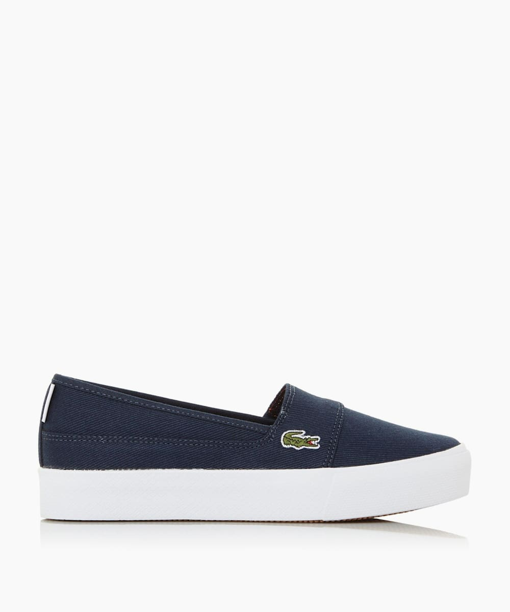 Contrast Sole Slip On Trainers