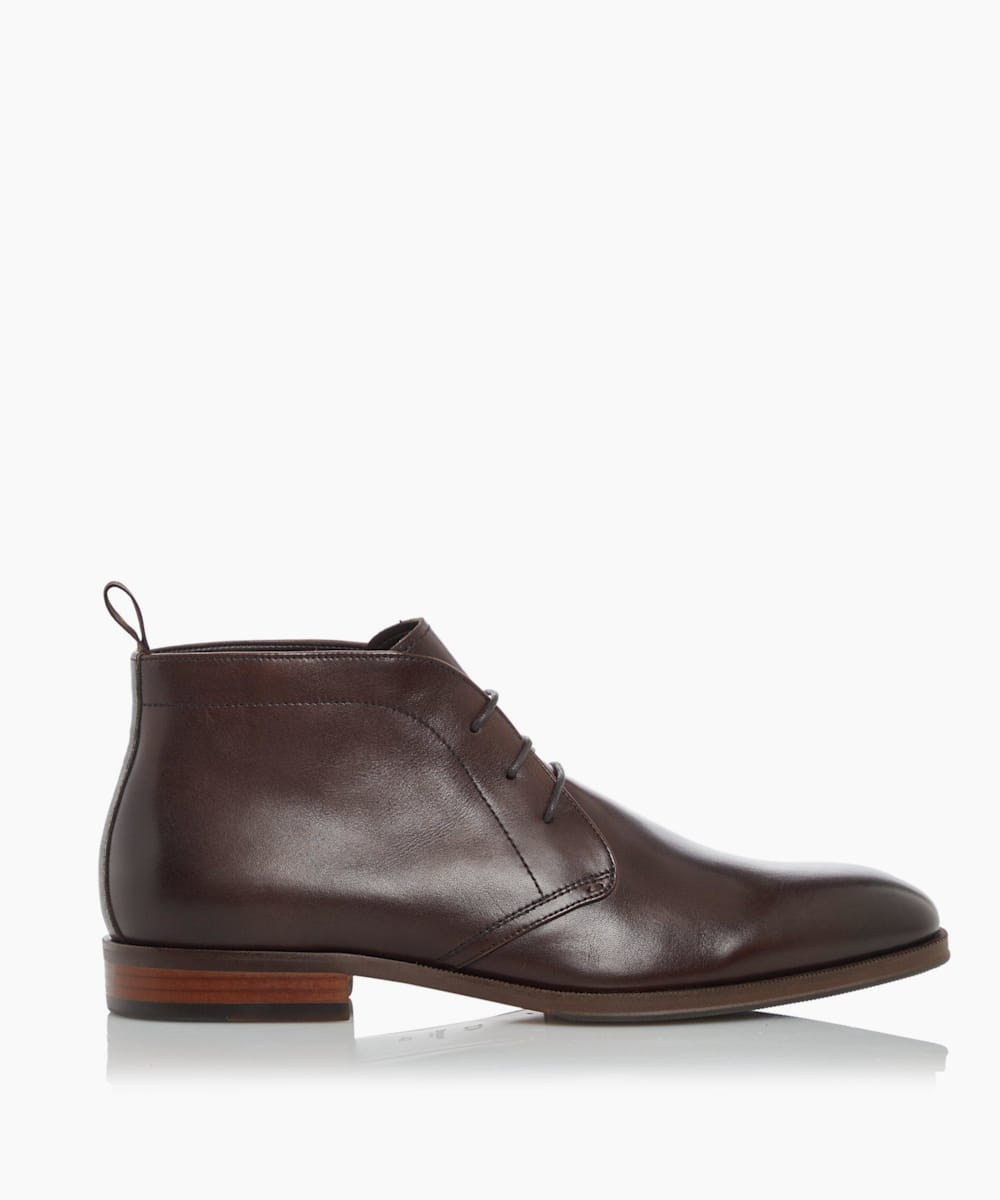 Smart Chukka Lace Up Boots