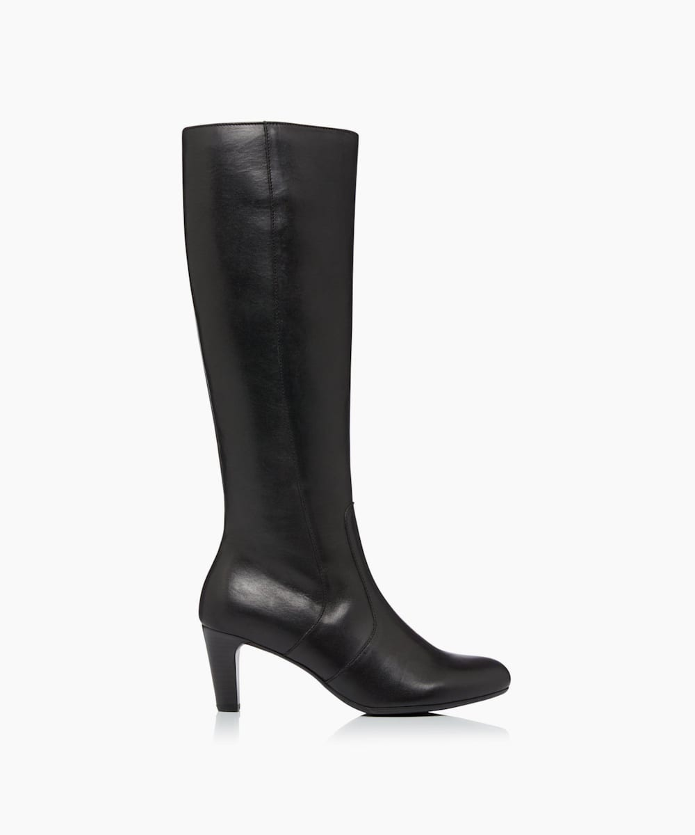 Slim Fit Knee High Boots