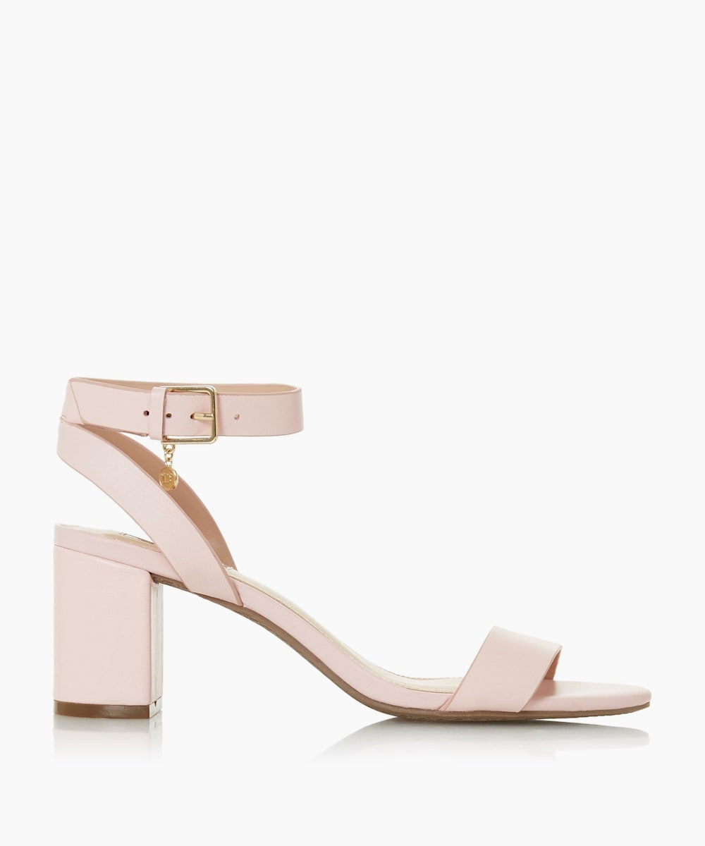 Mid Block Heel Sandals