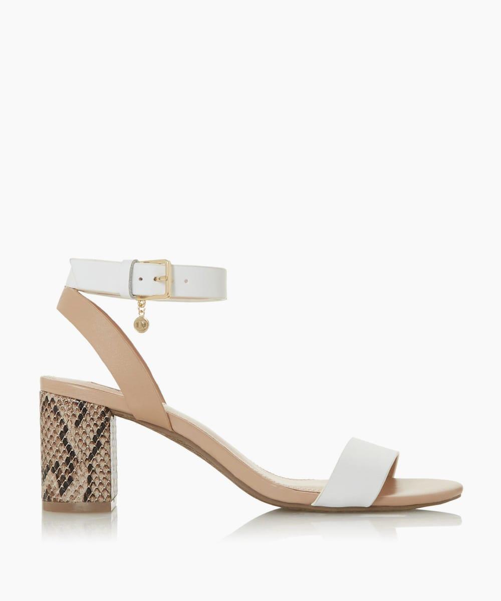 Mid Block Heel Sandals
