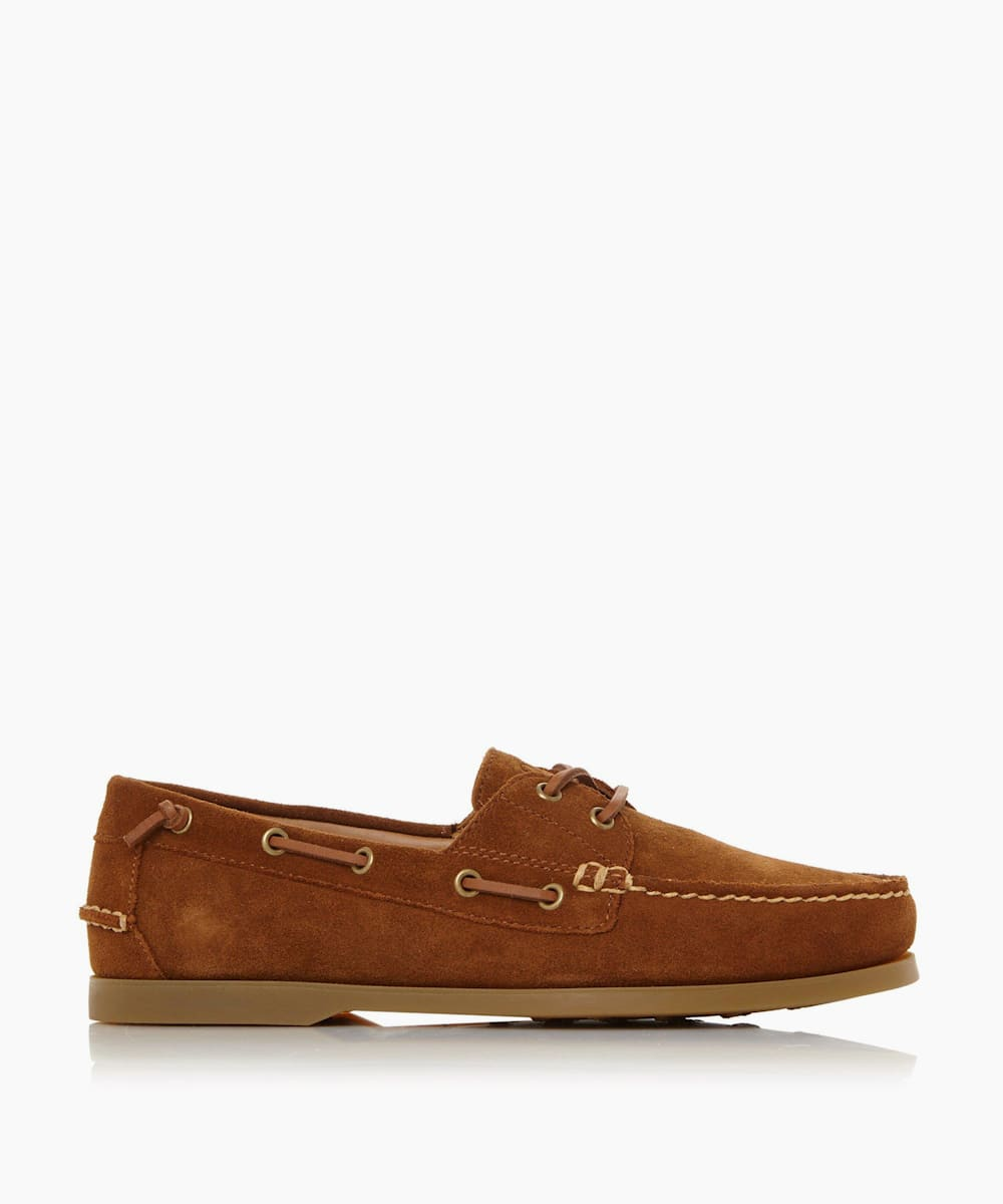 Moccasin Leather Boat Shoes