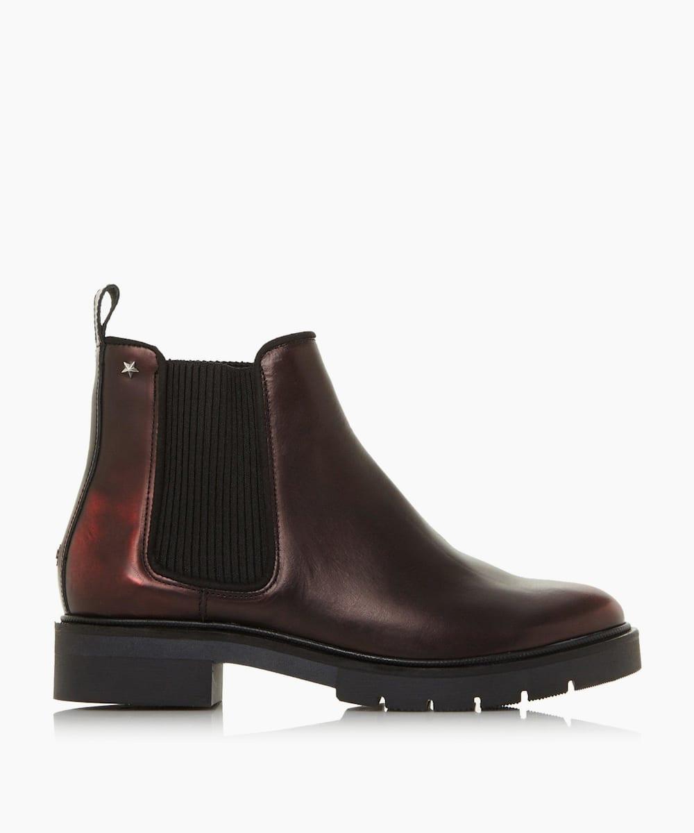 Metallic Chelsea Boots