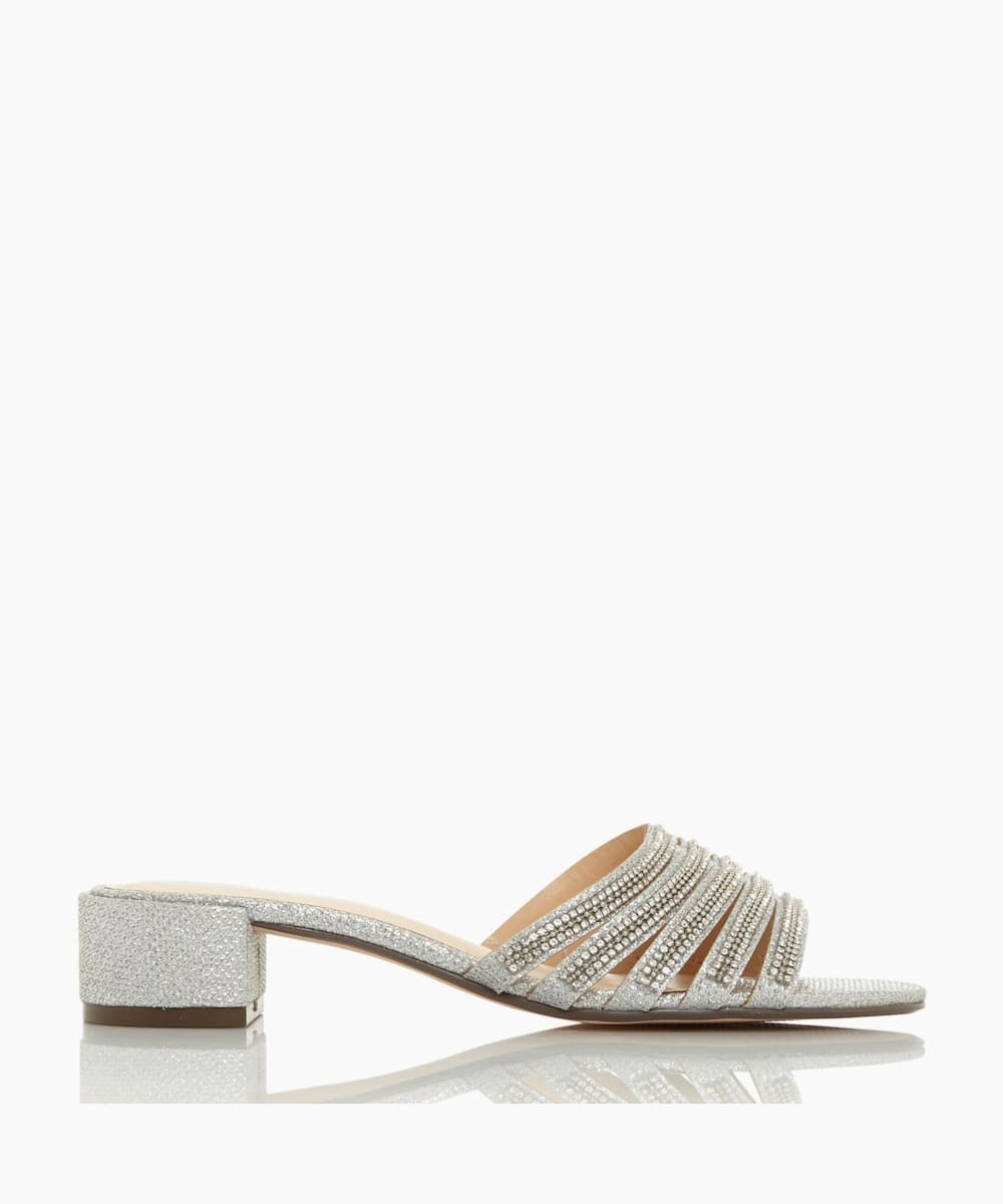 Diamante Strap Sandals