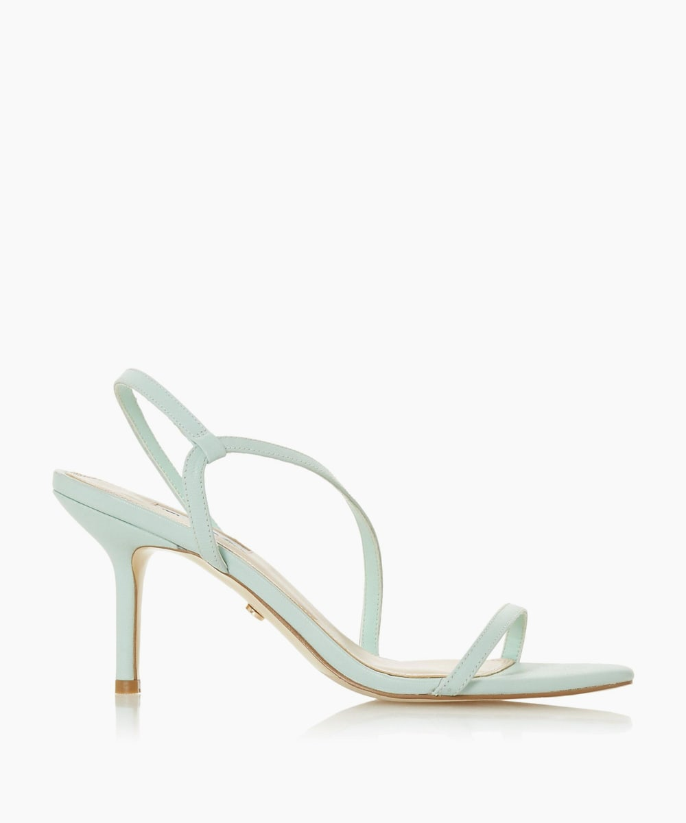 Barely There Strappy Sandals