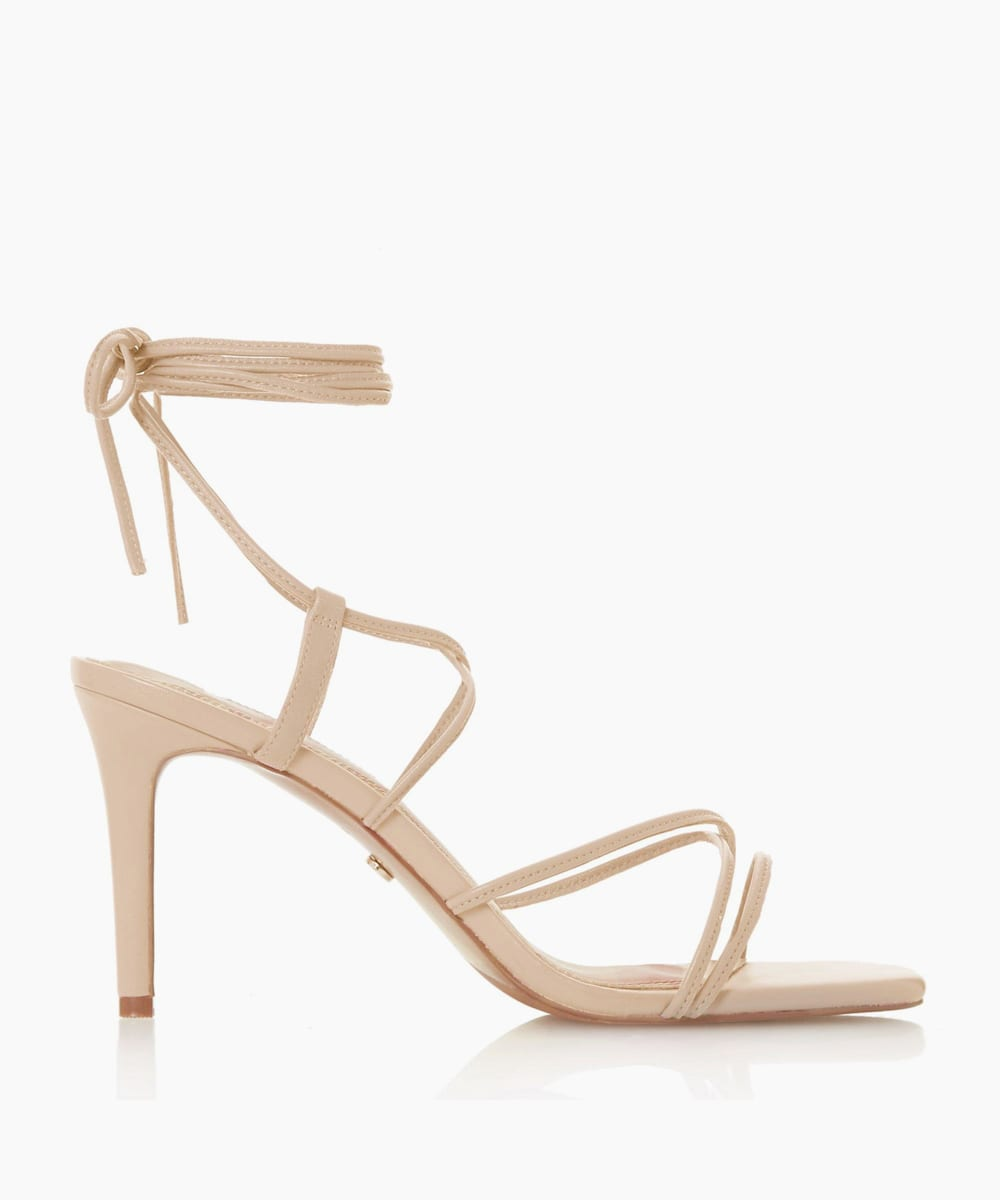 Spaghetti Strap Stiletto Heel Sandals