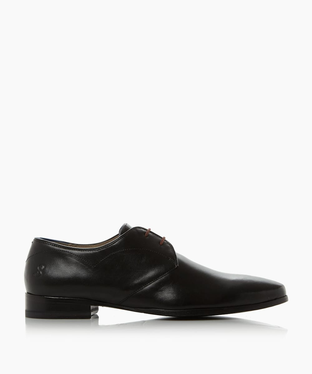 High Shine Lace Up Derby Shoes