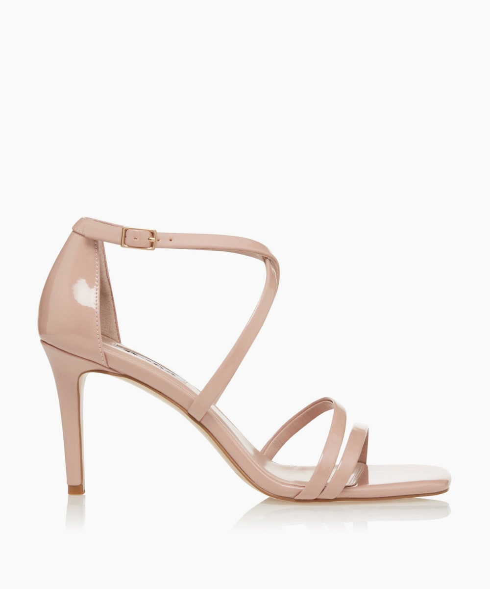 Square Toe High Heel Sandals