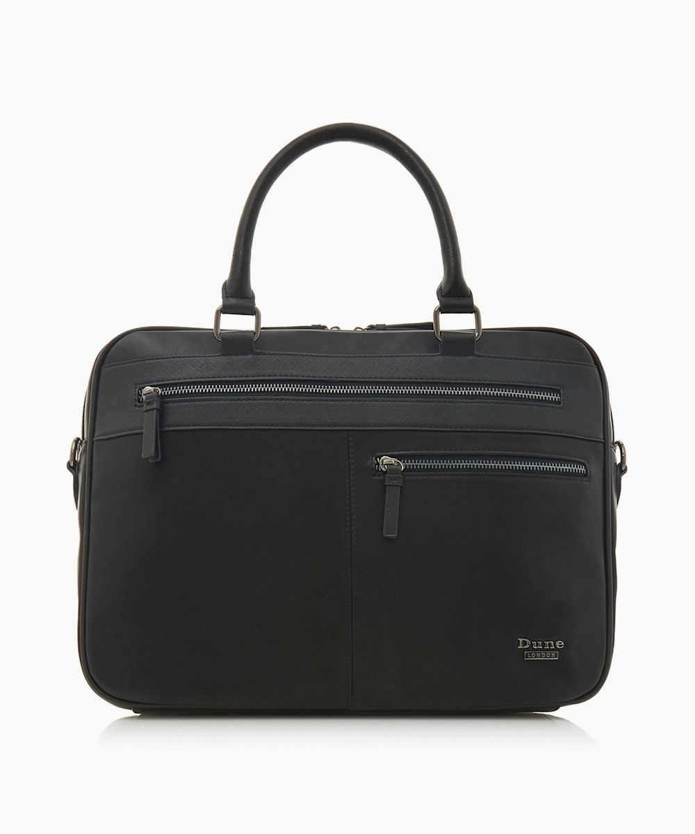 Pocket Detail Briefcase
