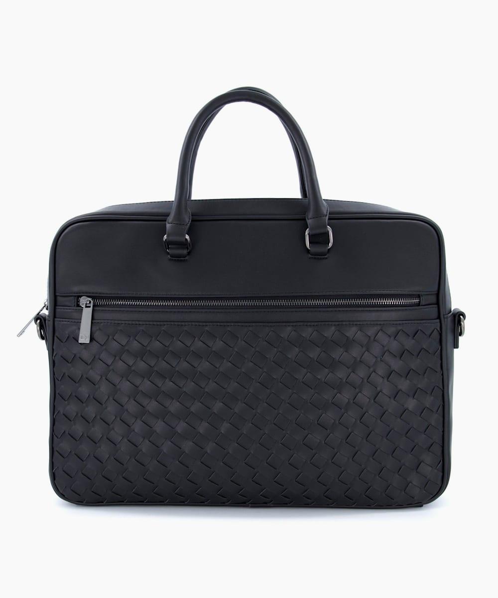 Woven Briefcase