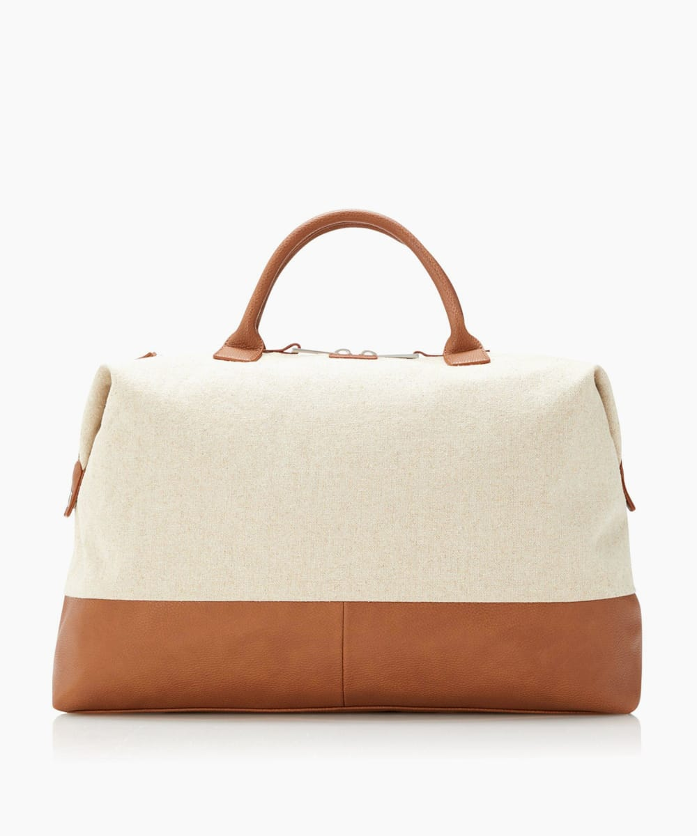 Natural Fabric Holdall