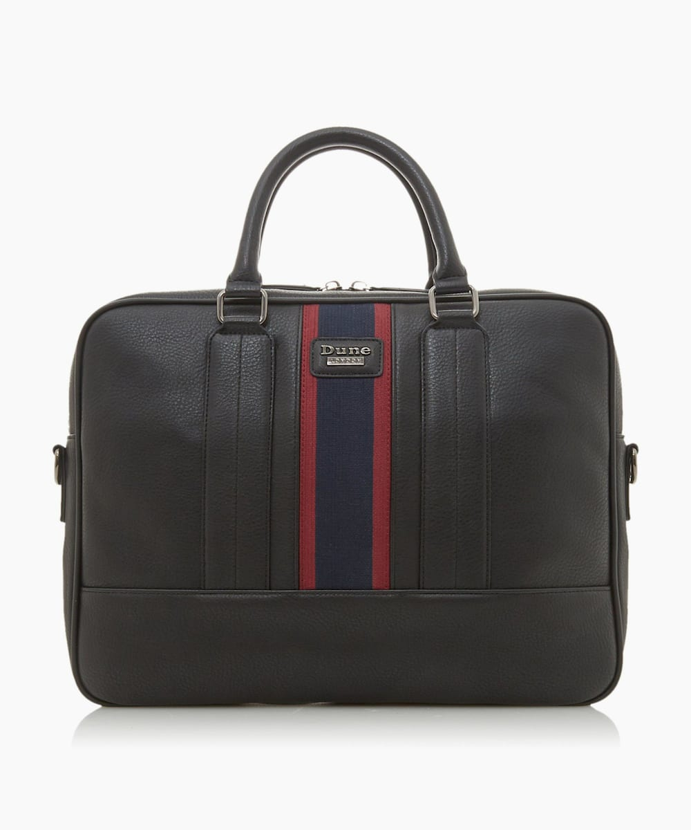 Stripe Branded Briefcase