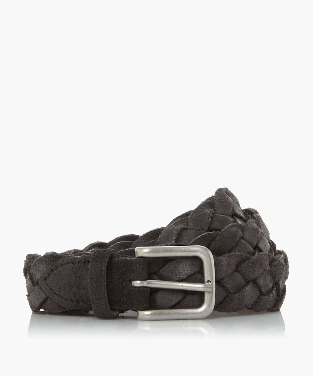 Distressed Woven Belt