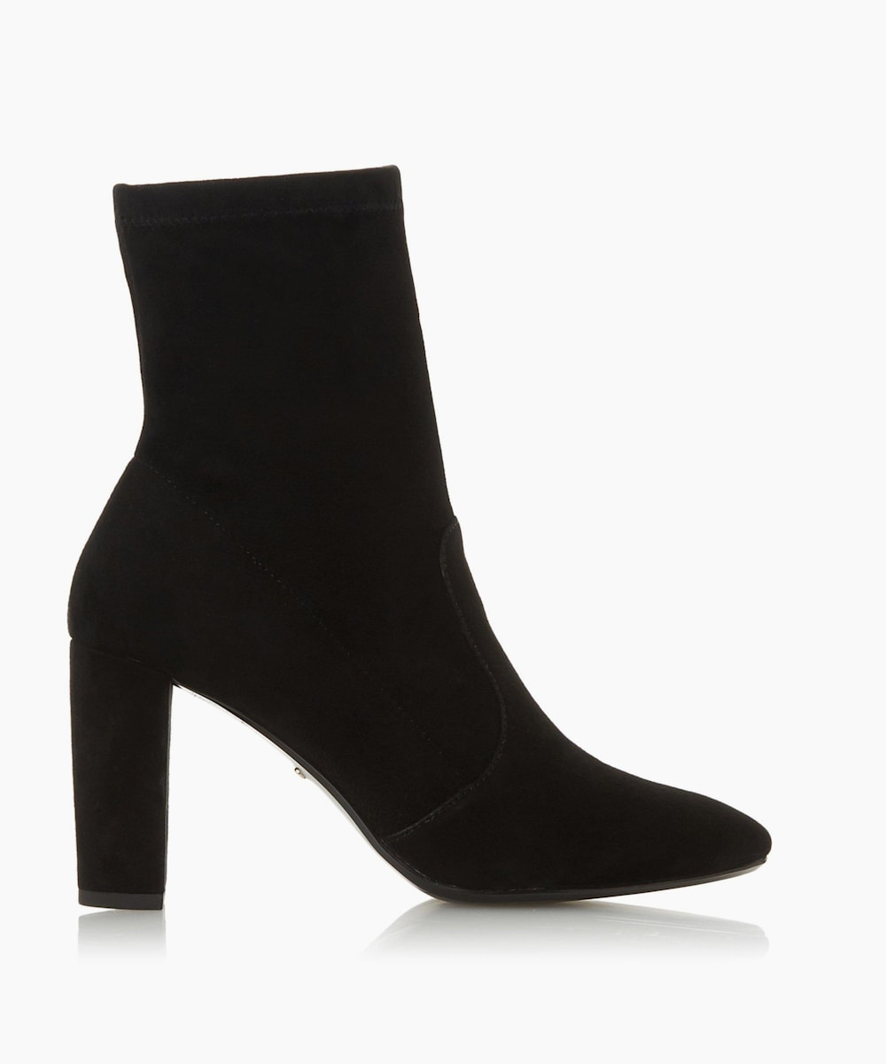 Stretch Sock Ankle Boots
