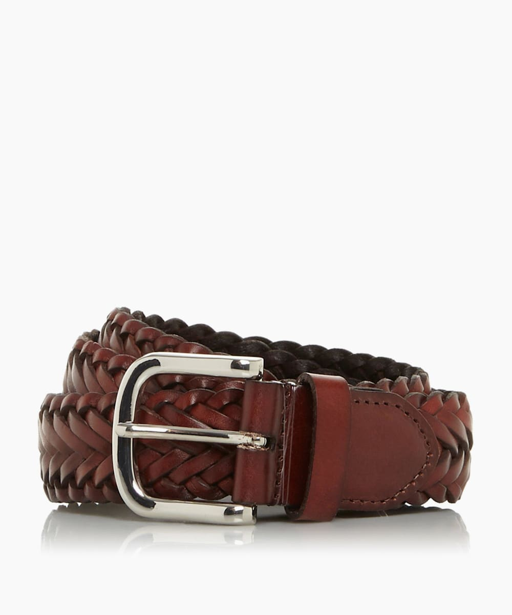 Hand Woven Leather Belt