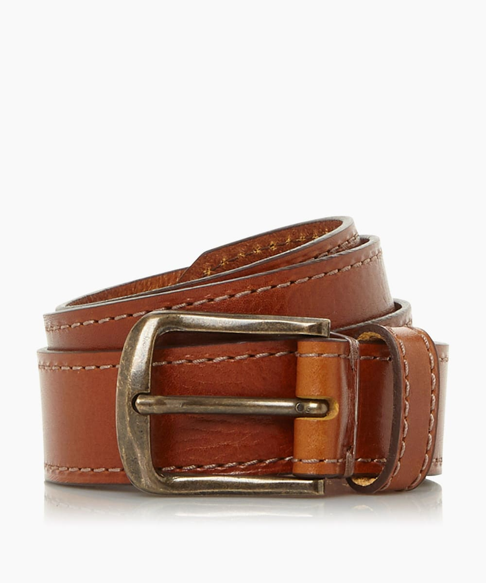Waxy Buckle Belt