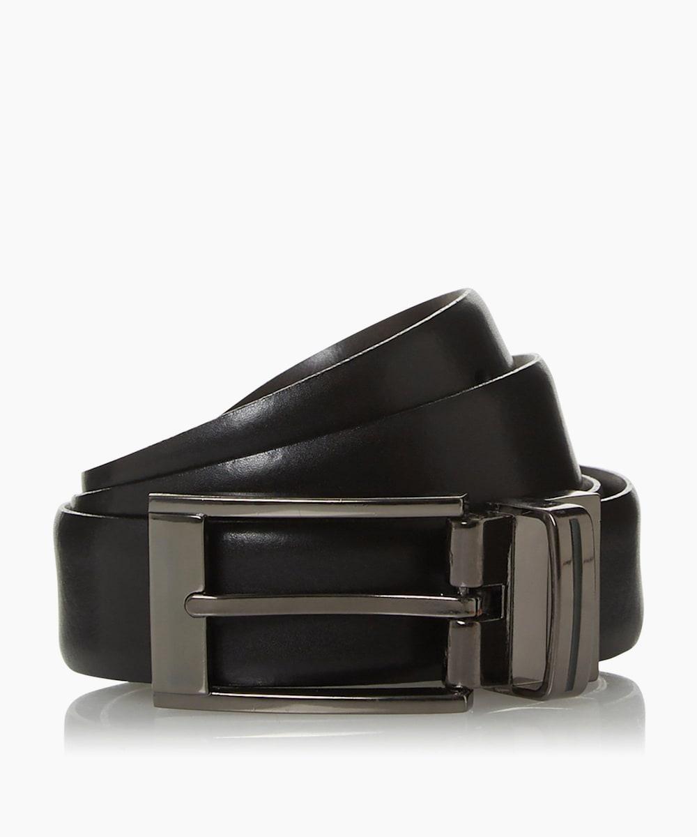 Enamel Buckle Reversible Belt